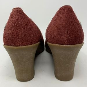 UGG Shoes - Ugg, Suede Wedges Fleece Lined Sz.7 (346)